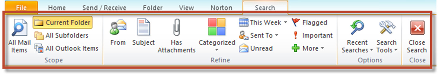 Extract from Outlook Book Edition 4: Better Outlook Searches