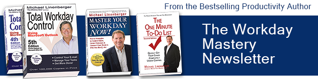 News from Bestselling Author of The One Minute To-Do List and Total Workday Control Using Microsoft Outlook
