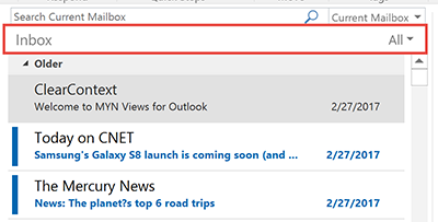Compact Layout in the Outlook Inbox: What it is and How to