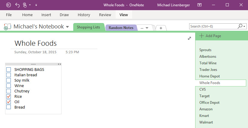 Microsoft OneNote: Confused about Your Version? | Michael