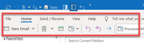 Outlook's New Simplified Ribbon Menu | Michael Linenberger's Blog